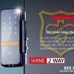Khóa thẻ từ cửa kính Gateman Shine 2 Way