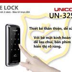 Khóa cửa thẻ từ Unicor UN-325S