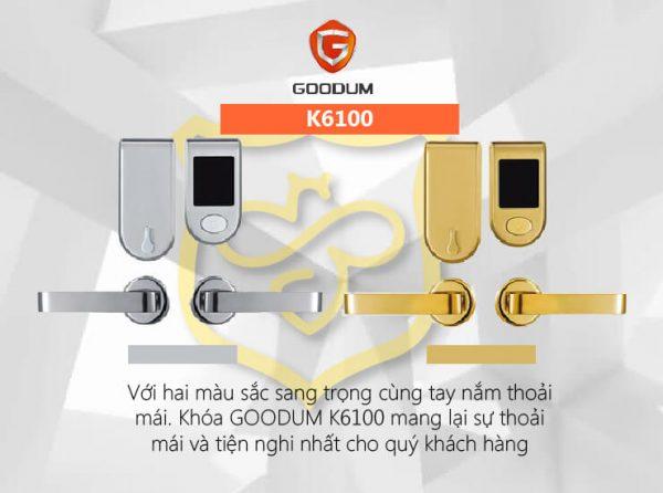 Khóa thẻ từ cho khách sạn Goodum K6100