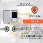 Khóa cửa thẻ từ Goodum K6100