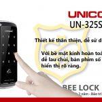 Khóa cửa điện tử Unicor UN 325S-SA