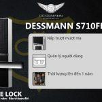 Khóa cửa vân tay nắp trượt Dessmann S710FP