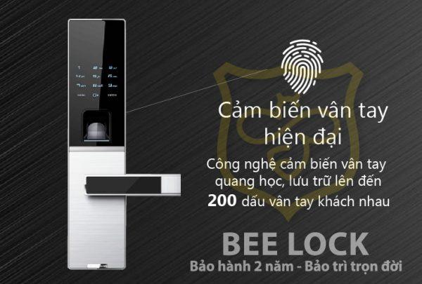 khóa cửa vân tay dessmann g811fp