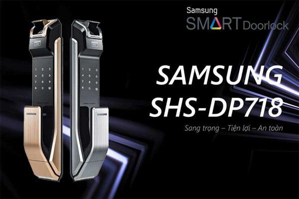 Khóa cửa vân tay Samsung P718