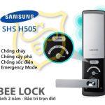 Khoá cửa thẻ từ Samsung SHS H505