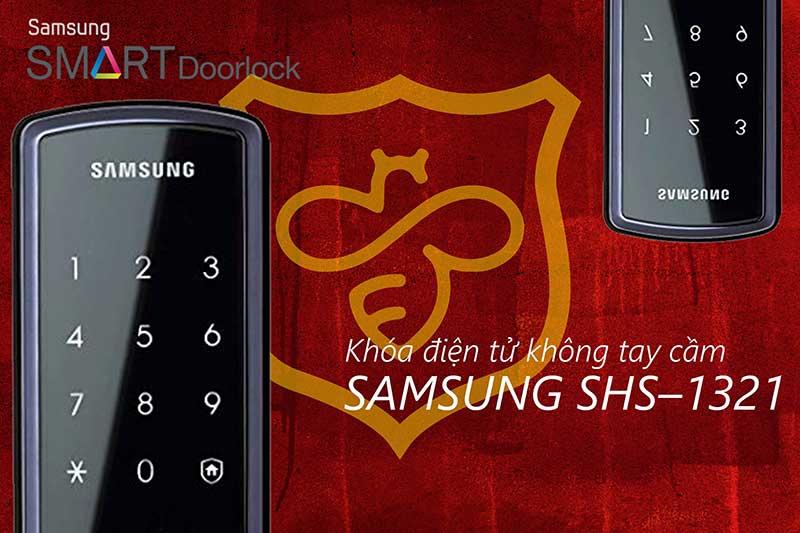 Khóa cửa vân tay Samsung SHS 1321