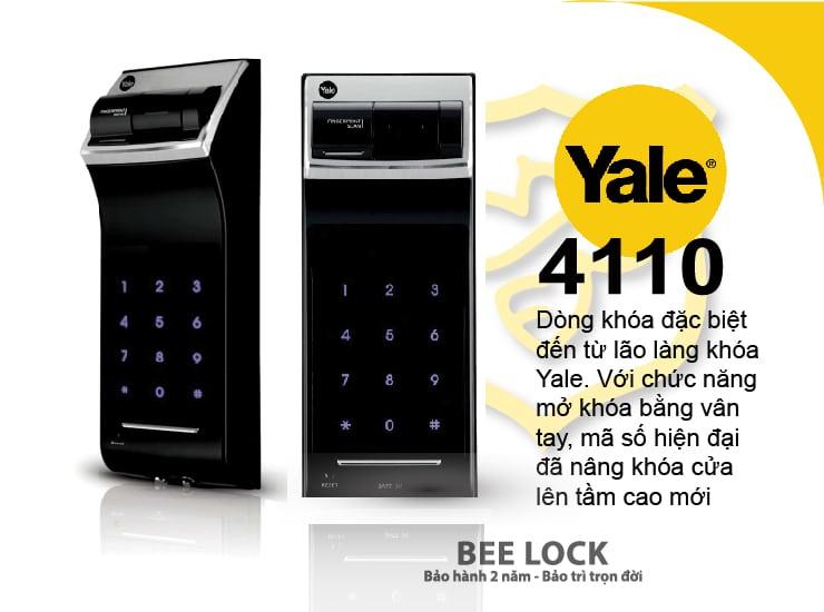 Khóa cửa điện tử Yale YDM 4110