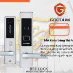 Khóa cửa thẻ từ Goodum V9300