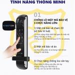 Khóa cửa vân tay Unicor UN -7200BK-F