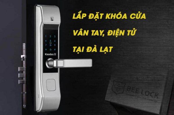Lắp đặt khóa cửa vân tay điện tử, thẻ từ tại Đà Lạt