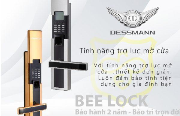 Khóa cửa vân tay Dessmann S510