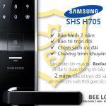 Khóa cửa vân tay Samsung SHS–H705