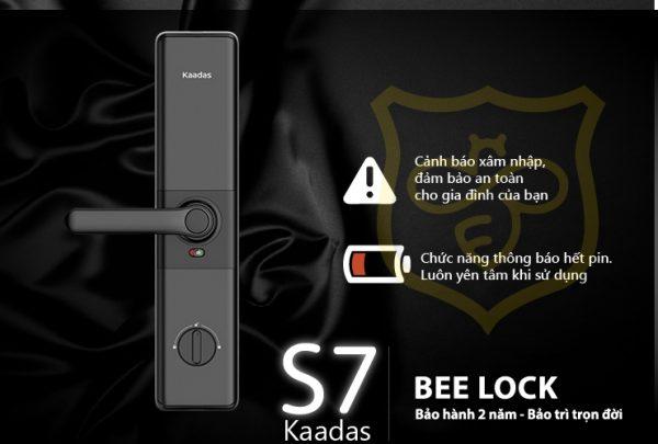 Pin Khóa cửa vân tay Kaadas S7