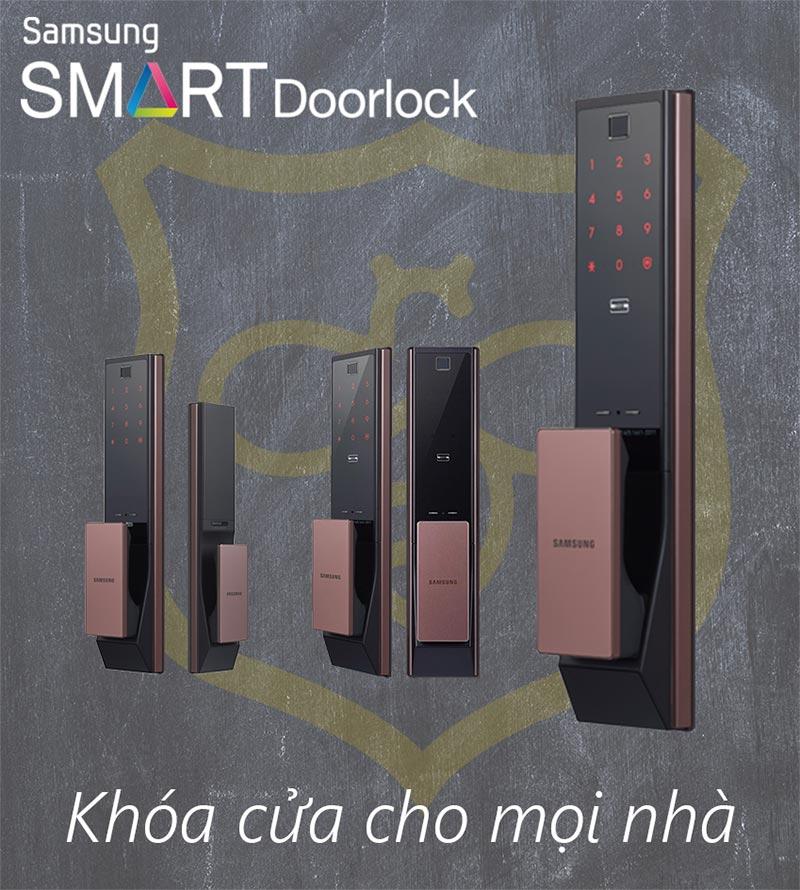 Khóa cửa vân taySamsung SHP-DP738