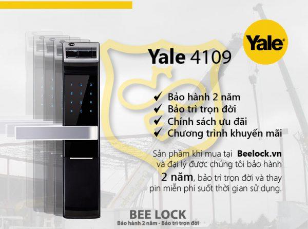 Khóa cửa thẻ từ Yale YDM 3109