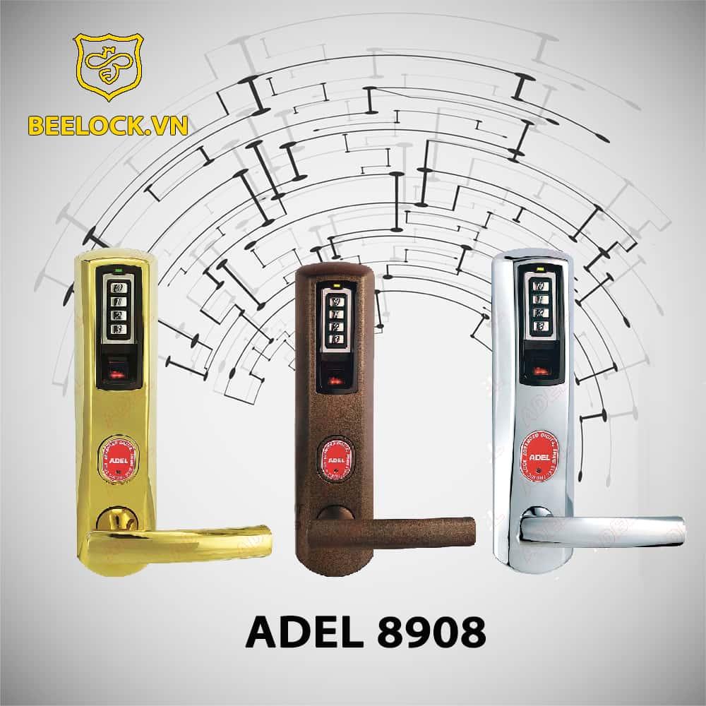 Khóa cửa vân tay Adel iDKL US3-8908