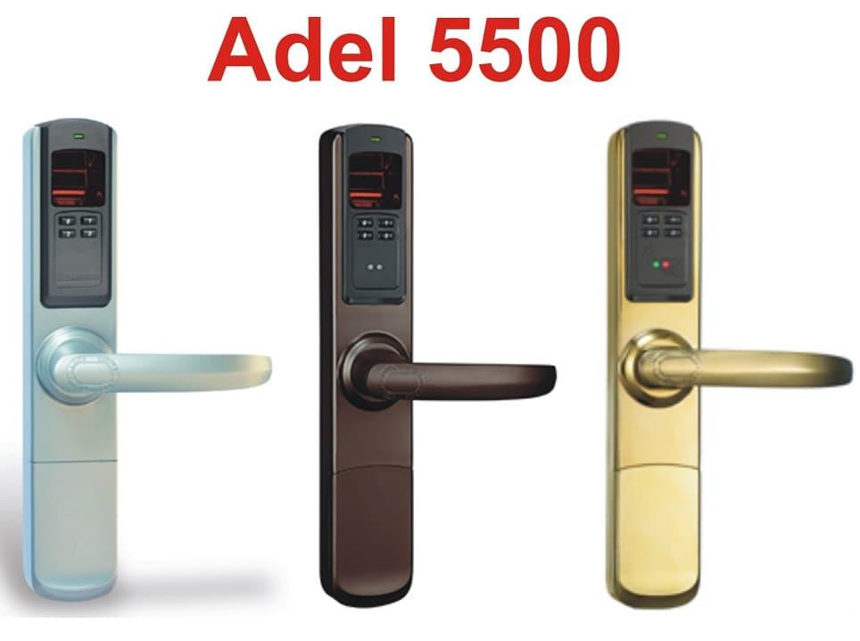 Khóa cửa vân tay Adel 5500