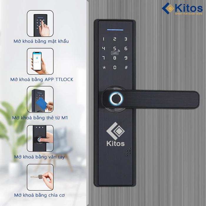 Khóa cửa vân tay Kitos KT-8800 Plus