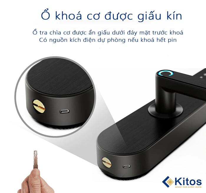 Khóa cửa vân tay Kitos KT-A20