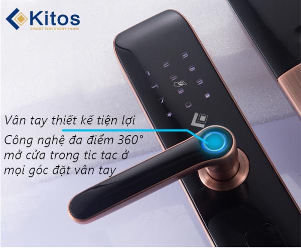 Đánh giá 5 tính năng ưu việt của khóa cửa điện tử Kitos