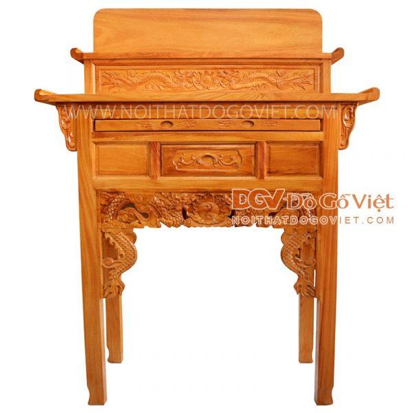 Hướng dẫn chọn mua bàn thờ gỗ cho gia đình đẹp hợp phong thủy