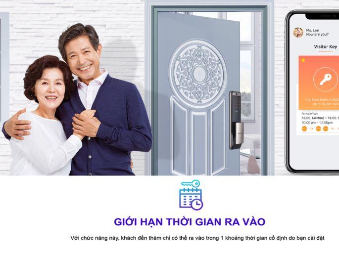 Khóa cửa vân tay Samsung SHP DP-609