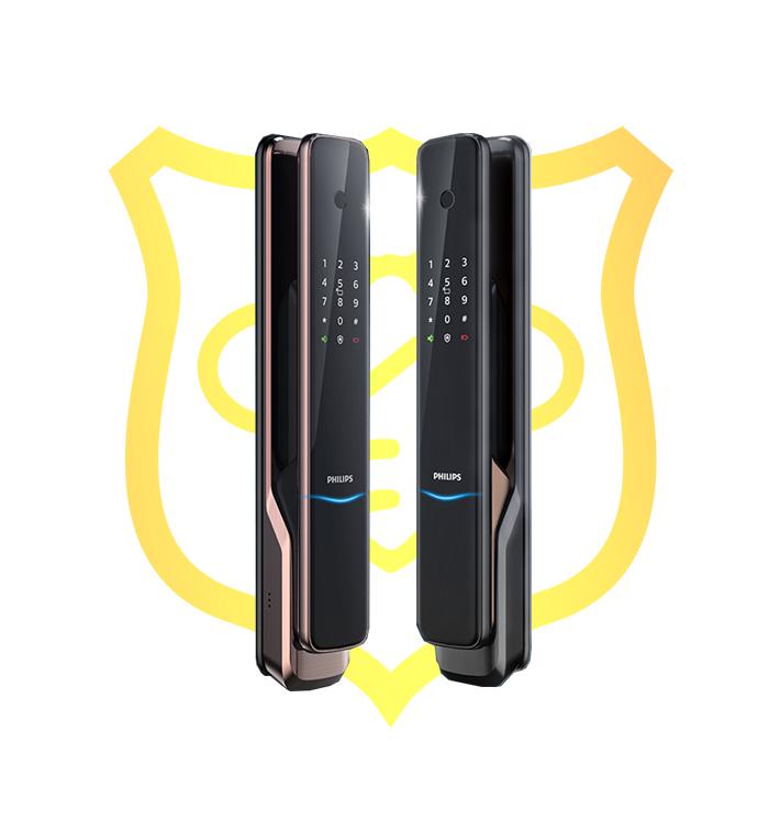 Khóa cửa vân tay Philips 9300