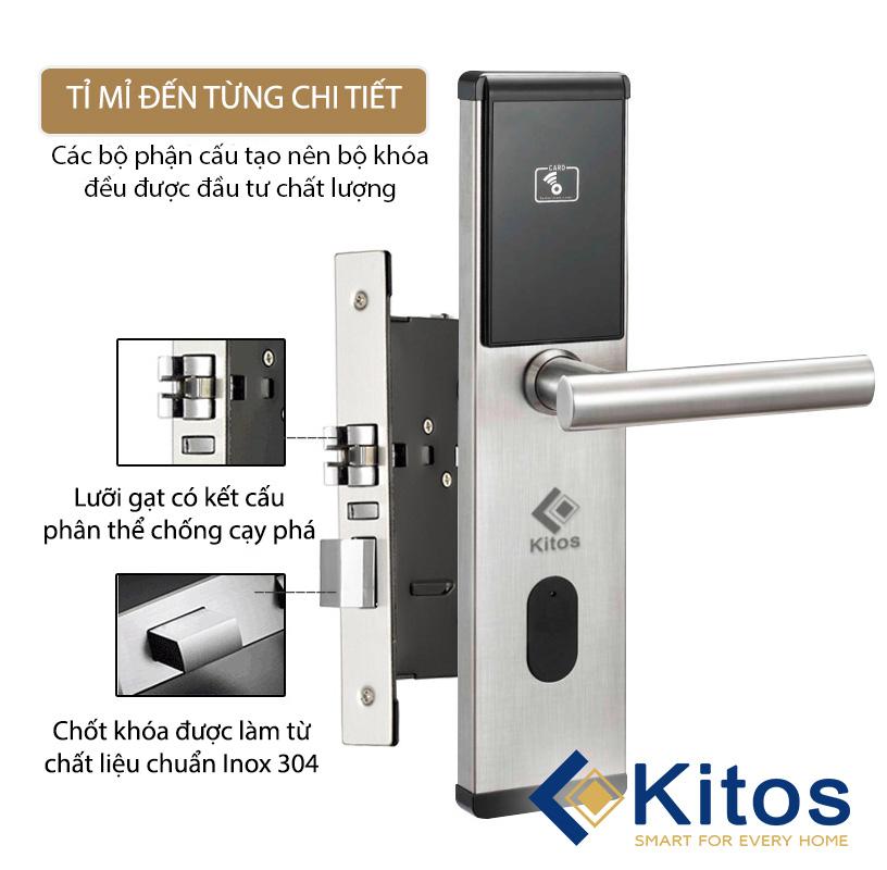 Khóa thẻ từ Kitos KC-663