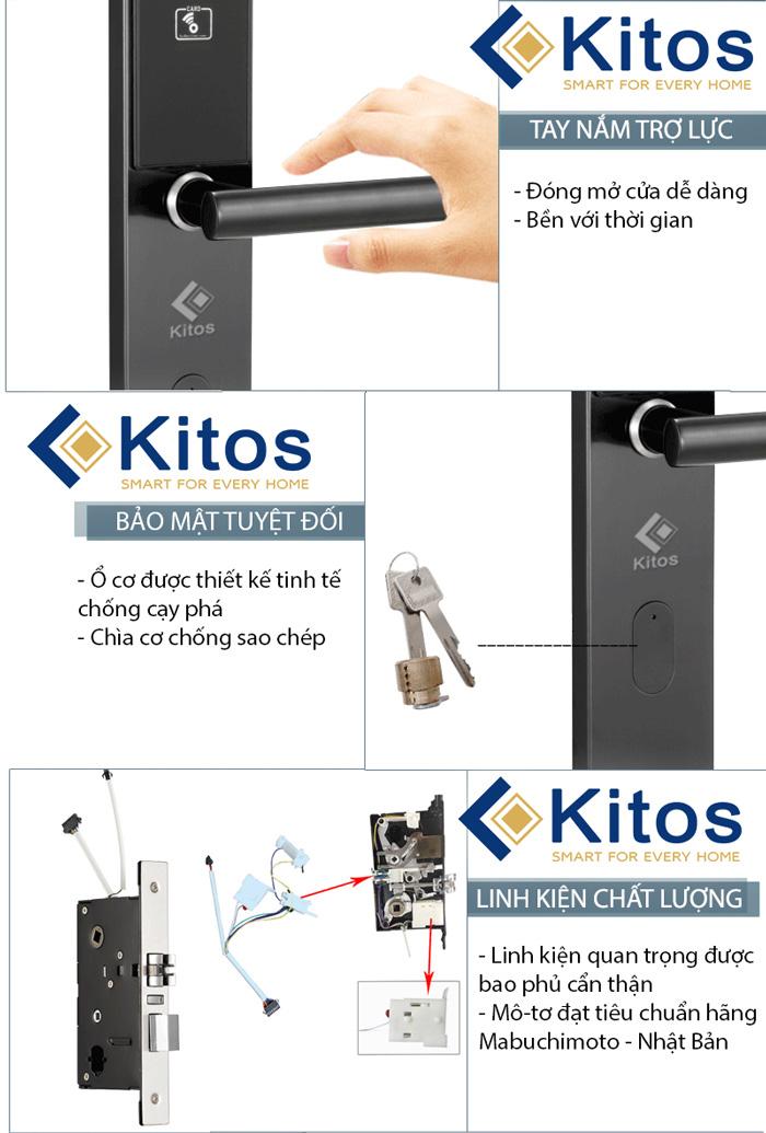 Khóa từ khách sạn giá rẻ Kitos KC 663
