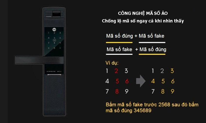 Khóa Điện Tử Yale YDM 7116 MB
