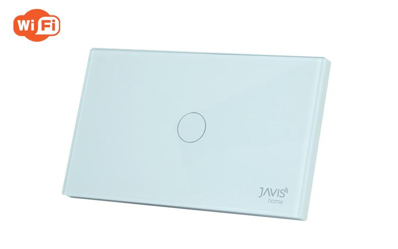 Công tắc JAVIS 1 Gang chữ nhật JS1CUS