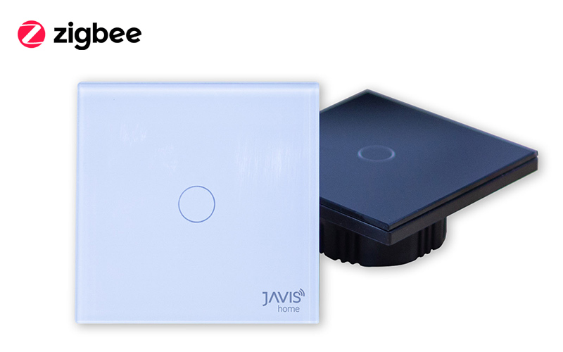 Công tắc JAVIS 1 Gang vuông Zigbee JS1C-EU-ZB