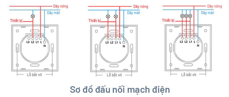 Công tắc JAVIS 2 Gang vuông Zigbee JS2C-EU-ZB