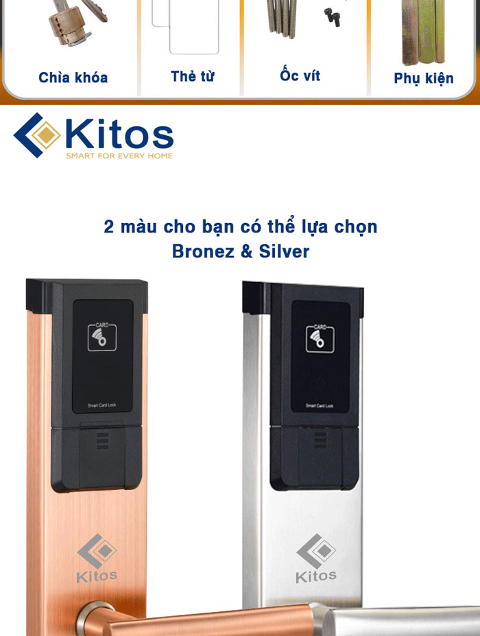 Khóa thẻ từ Kitos KC-588