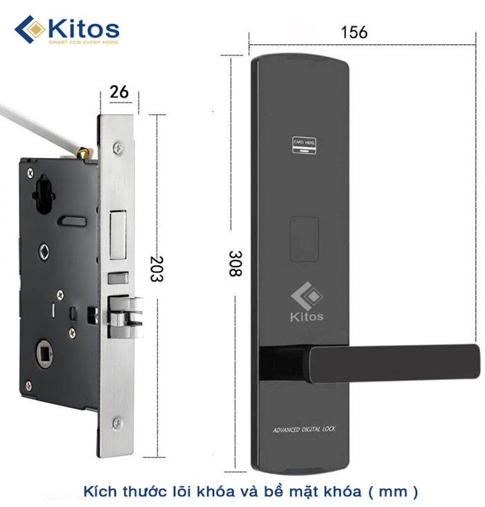Khóa thẻ từ khách sạn Kitos KC-818