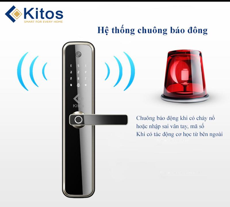Khóa cửa vân tay camera Kitos KT-X3
