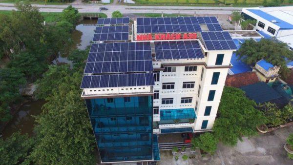 Dự án thi công kiểm soát ra vào bằng khóa từ Khách sạn A35 Ninh Bình