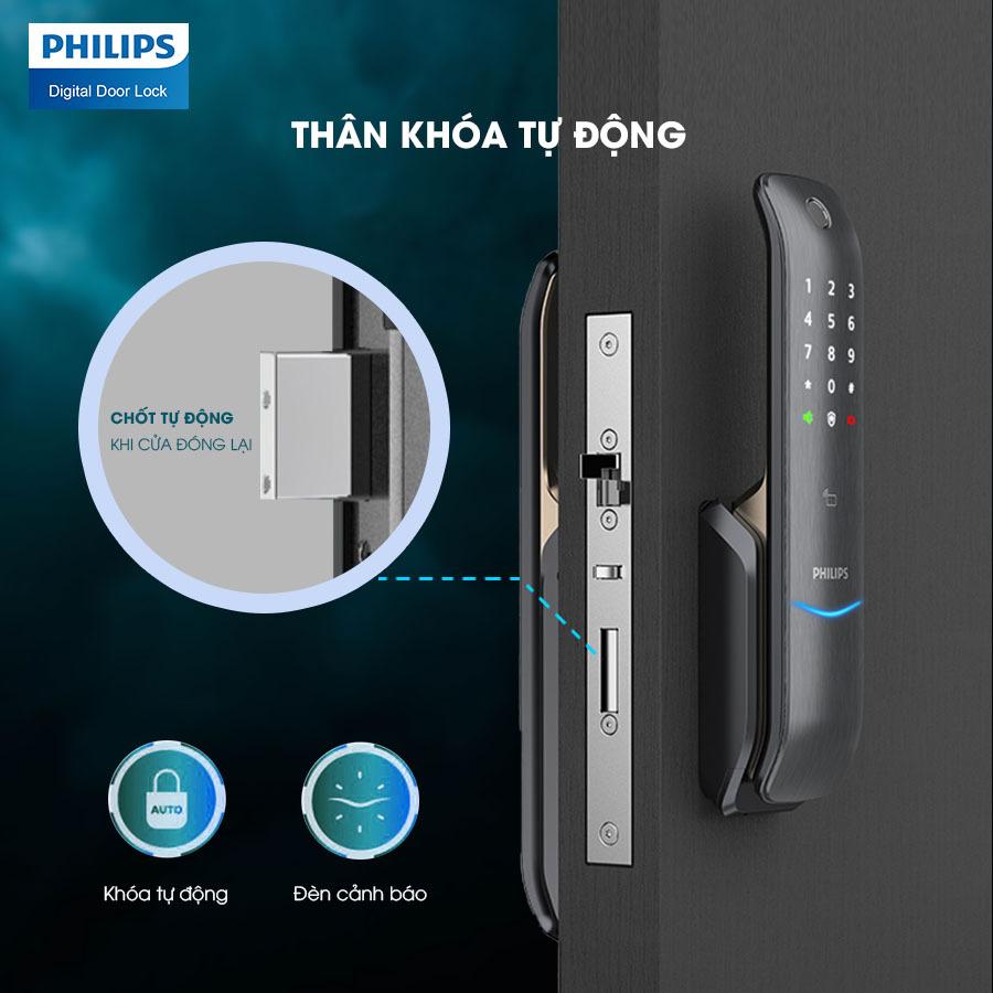 Khóa cửa vân tay Philips 6100