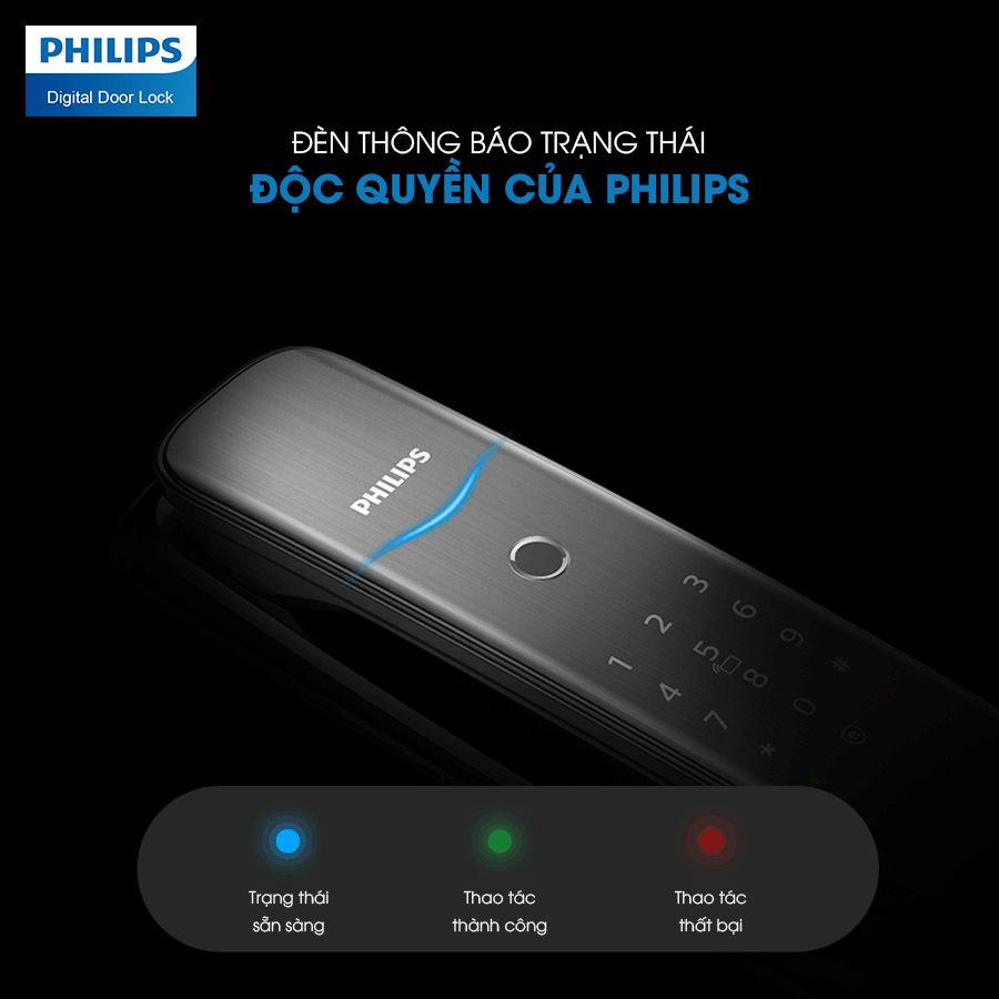 Khóa cửa vân tay Philips DDL702E