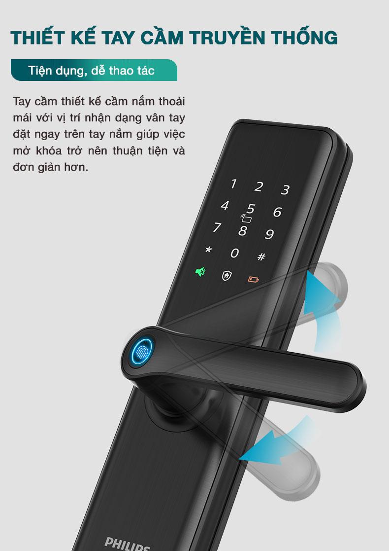 Khóa vân tay Philips 7300