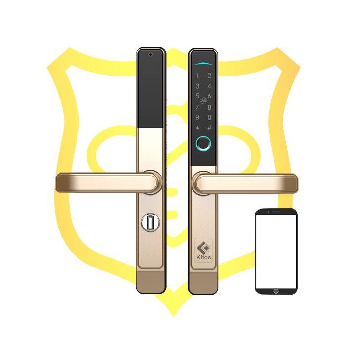 Khóa cửa nhôm điều khiển qua App Kitos KT-AL38 Plus