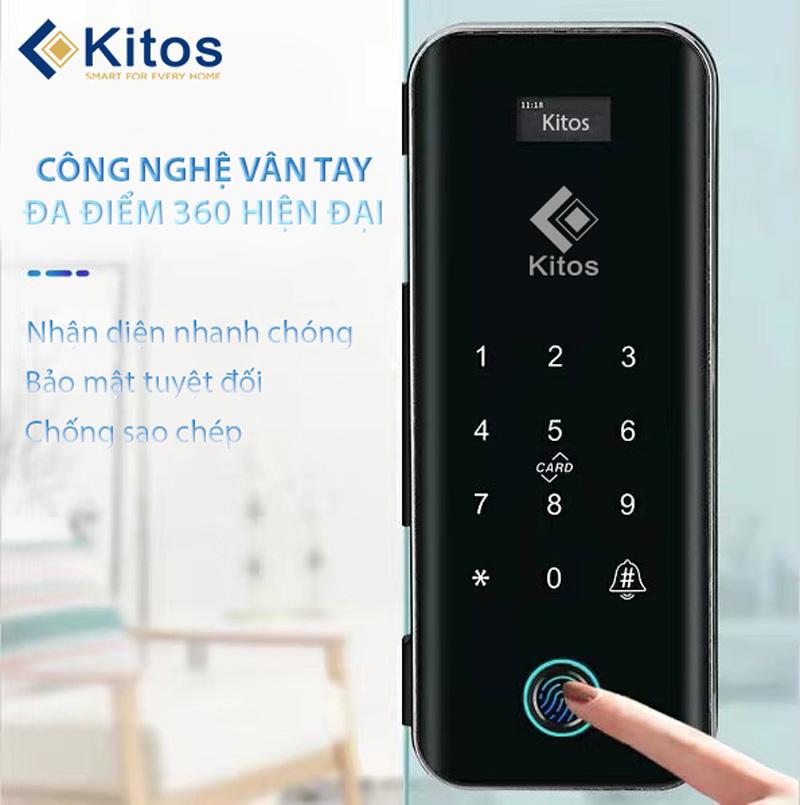 Khóa cửa kính vân tay Kitos KT-GL50